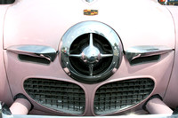 Color photograph of that famous Studebaker grill by Crystal Nederman