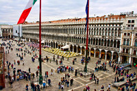 St. Marks Square and the northern arcade building by Crystal Nederman