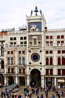 Photograph of the clock tower, Piazza San Marco by Crystal Nederman