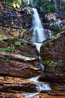 Color photograph of St. Mary's Falls by Crystal Nederman