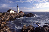Photograph of Portland Head Lighthouse by Crystal Nederman.
