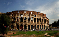 Photograph of the Roman Colosseum by Crystal Nederman